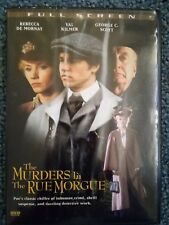 Murders in the Rue Morgue (DVD, 2006, Canadian) Val Kilmer