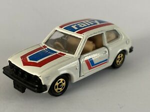 Tomica - Honda Civic GL Rally No.83 (1974) Made in Japan. 1:57 Scale
