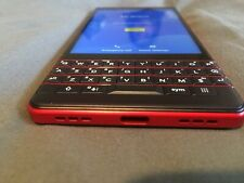 BlackBerry KEY2 LE Dual SIM Red 13MP+5MP 64GB 4GB RAM Android Phone By Fedex