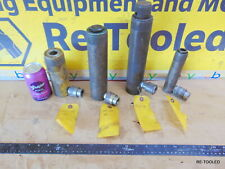 New listing (4) Hydraulic Cylinder Ram Lot of 4 Cylinders Enerpac and More