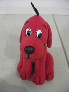 Clifford The Big Red Dog Plush Toy 9cm x 12cm - Small sized soft toy
