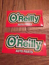 2 oreilly Stickers decal ratrod dirt drag car ihra nhra mopar chevy ford olds vw