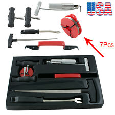 7Pcs Auto Car Automobile Windshield Remover Tool Set Wind Glass Removal Kit USA