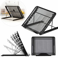 Laptop Cooling Stand Lazy Foldable Computer Desk Adjustable Laptop Stand Tray