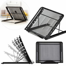 Lazy Foldable Computer Desk Portable Adjustable Laptop Notebook Table Stand Tray