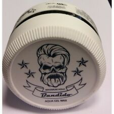 Bandido Maximum Hold Aqua Gel Wax  (White)  5oz./150ml