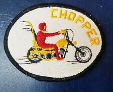 VINTAGE CHOPPER OVAL MOTORCYCLE PATCH