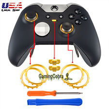 Matte Chrome Gold Profile Switch Buttons Ring for Xbox One Elite Game Controller