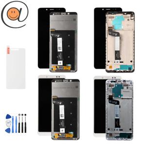 Ecran LCD + Vitre tactile Xiaomi Redmi Note 5 Noir / Blanc Avec/sans châssis