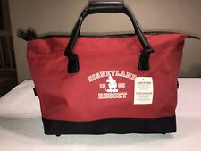 Disneyland 1955 Resort Bag Red Mickey Mouse Carry On Duffle Tote Doctors Bag