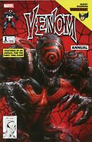 VENOM Annual #1 Clayton Crain Variant Marvel Comics HIGH GRADE Donny Cates 2018