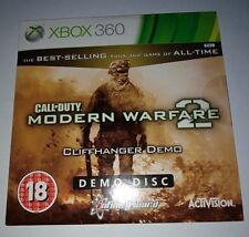XBOX 360 CALL OF DUTY MODERN WARFARE 2 CLIFFHANGER DEMO NEW SEALED UNUSED