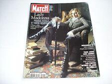MADONNA on cover PARIS MATCH magazine November 17 2005 rare