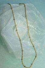 40 cm  HALSKETTE 750 GOLD  GOLDKETTE 18 KT mit KARABINER  NEU   ein must have