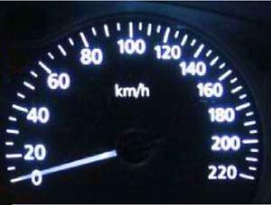 White LED Dash Light Kit for Nissan Skyline R31 R32 R33