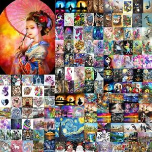 Full Drill 5D Diamond Painting Embroidery Picture Art Cross Stitch DIY Kit UK