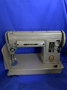 Vintage Singer 301A Sewing Machine WORKS With Carry Case