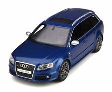 AUDI RS4 AVANT B7 SEPANG BLUE 2005 OTTOMOBILE OT785 1/18 RESINE 999 PIECES BLAU