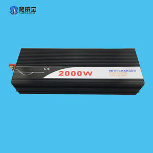 2000W Off-grid Inverter With Charger Electrical Protection And Monitoring