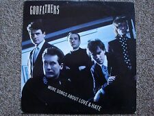 "Godfathers ""More Songs About Love and Hate"" LP. Epic Records 1989. FREE POST"