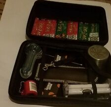 """""""ALL IN ONE""""Smoking Hard Kit- Aluminum Grinder, Rolling Machine & Papers, & more"""