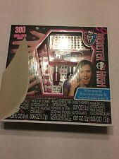 Monster High 3D Nail Design 300 Piece Set Kit New In Box