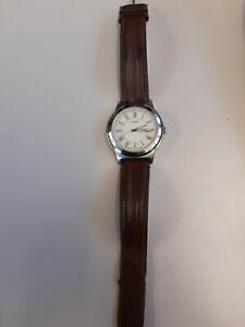 Timex Herrenuhr Indiglo WR 50m, Tag, Datum  Römische Zahlen Gebraucht sehr gut e
