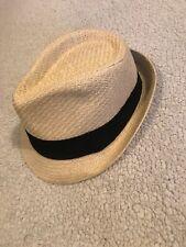 Karfil Panama Novara Hat With Black Strap Adjustable Band Inside