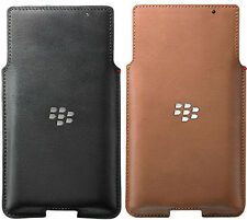 Genuine BlackBerry Leather Case PRIV mobile cover cell smart phone pouch casing