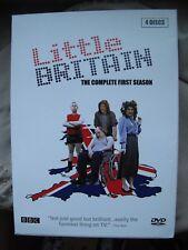 Little Britain Series 1 Complete First Season 4 Disc Region 1 Box Set DVD