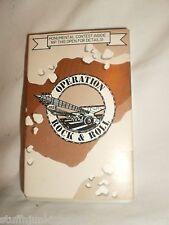 Operation Rock & Roll Cassette Tape (ALICE IN CHAINS, ALICE COOPER & MORE) RARE
