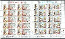 Isle of Man-Europa sheets 1990  mnh-CEPT _Postmen-Architecture Post Offices