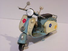 Vespa Scooter Motorcycle Bike 4.5' Vintage Handmade Tin Old Style Collectibl