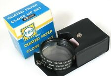 55MM CLOSE UP FILTERS W/ CASE IN ORIG. BOX