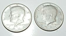 1971 KENNEDY HALF DOLLAR, LOT OF 2 ,Coins. collectible