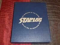 Starlog Slip Cover Case Box Magazine 12-issues Holder with enclosing box-style