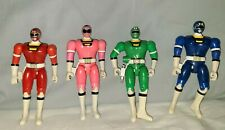 "Mighty Morphin Power Rangers Turbo Key Double 5.5"" Lot of 4"