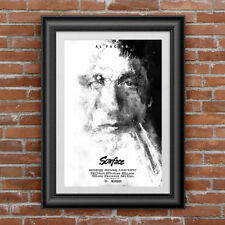 Scarface movie poster art canvas print alternative  Al Pacino