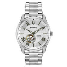 Bulova Wilton 96A207 42mm Stainless Steel Case and Strap