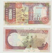 Somalia,20 N-Shilin Soomaali Shillings 1990 BB+ [am55]