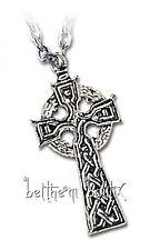 Goth : Alchemy Collier Chaine & Pendentif Croix Celtique Celt's Cross Gothique