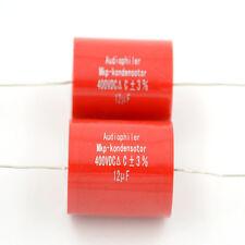 2pcs 12uf 400v Audiophiler MKP-kondensotor MKP Tubular Audio Coupling Capacitor
