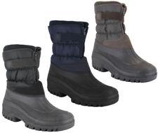 Groundwork Snow, Winter Zip Boots for Men