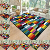 Hand Carved Multi Colour Carpets Small Large Floor Rugs Long Hallway Runner Rug