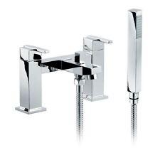 Hugo moderne bain de remplissage douche mélangeur salle de bains robinet en laiton massif chrome