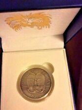 2012 Spiny Anteater Silver Coin 5 Kina Papua New Guinea Wildlife Black Diamonds