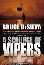 A Scourge of Vipers  by Bruce DeSilva Mystery Book Hardback Dust Cover