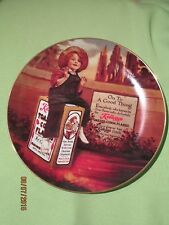"""KELLOGG'S NOSTALGIA COLLECTION PLATE -1986 """"ON TO A GOOD THING"""""""