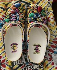 China Town Market x Grateful Dead Crocs Men's Size 12