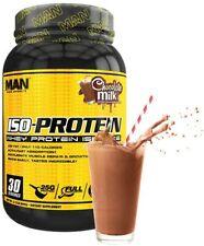 MAN Sports ISO-Protein 100% Whey Protein Isolate Powder, Chocolate Milk 2lbs